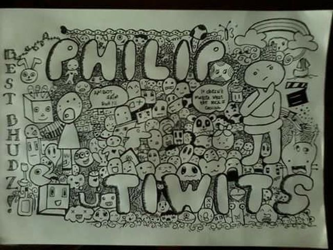One of my art work :) doodle ....