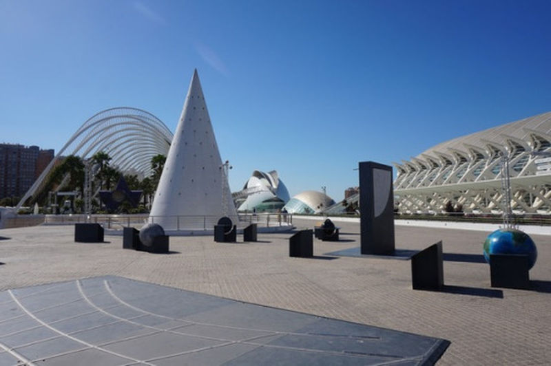 Architecture Travel Destinations Modern Arts Culture And Entertainment City Sculpture Cityscape Day Outdoors Sky No People Oceanographic València