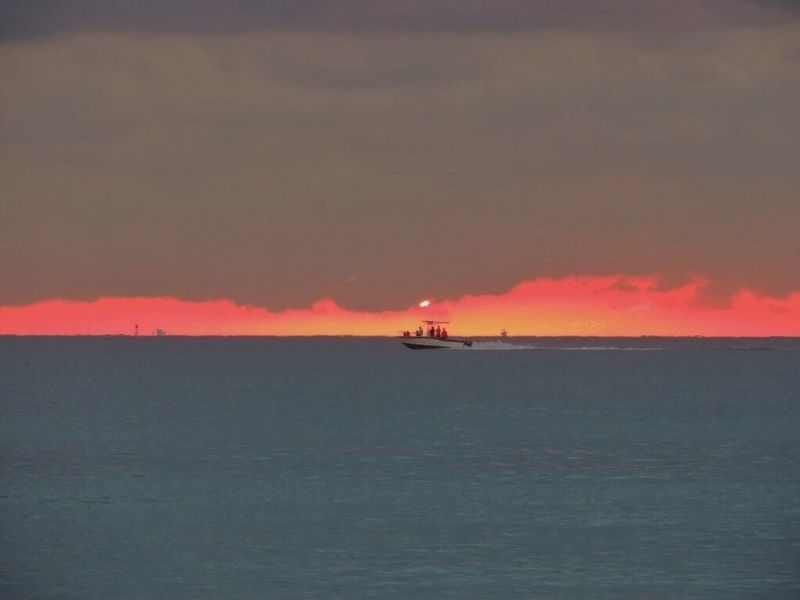 Good Morning Sunshine Sunrise_sunsets_aroundworld Good Morning Miami! Sunrise Porn Sunrise On The Beach Beach Photography Life Is A Beach Horizon Over Sea Amazing Sunrise Nautical Vessel Scenics Beauty In Nature Sea View... Love It!  In Front Of Me Enjoying The View