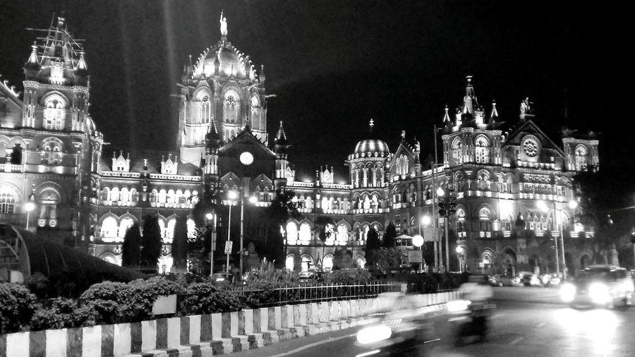 Blackandwhite Streetphotography B&w Street Photography Mumbai Cities At Night Blurred Motion Long Exposure Thestreetphotographer2016eyeemawards