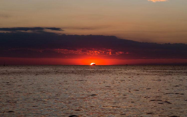 Croatian sunset... Cloud Croatia Croatian Coast Porec, Croatia Poreč Coast Beach Beauty In Nature Coast Croatian Sunset Horizon Over Water Idyllic Nature Orange Color Outdoors Porec Scenics Sea Sky Summer Sun Sunset Sunsets Tranquil Scene Tranquility Water