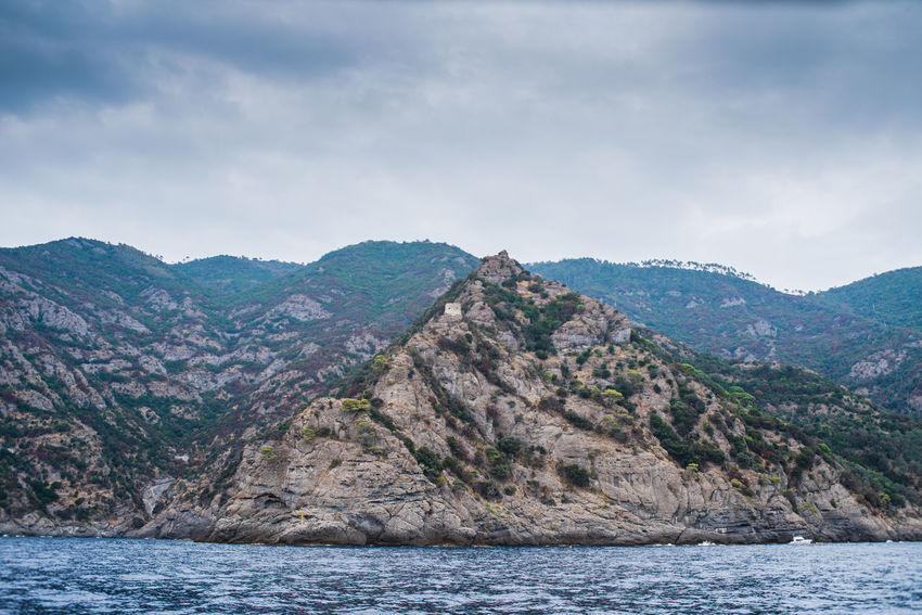 Camogli Cloudy Dramatic Sky Mountain View Adventure Beauty In Nature Cliff Clouds Italy Landscape Liguria Mist Mountain Peak Mountain Range Mountains Outdoors Promontory Scenics Sea View Seaside Storm Gathering Waterfront