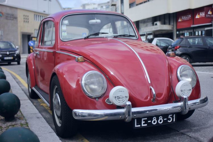 Classic Red VW