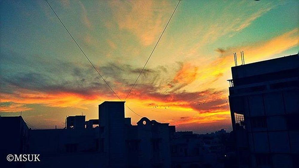 ☁ 🌇 Hyderabad Photography Sunset Clouds Twilight Telangana Followforfollow Followback F4F Followplease Followmenow  Follow4follow Photographer Like4like Photographypage Mi4i @xiaomi_world
