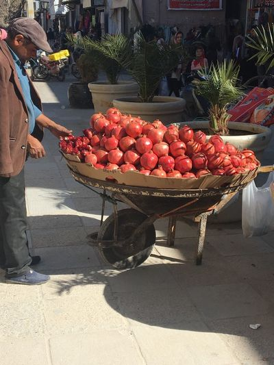 Fruit Basket Day Food And Drink Real People Market Red Healthy Eating Freshness Iran Places Life Adult Lifestyles People EyeEmNewHere