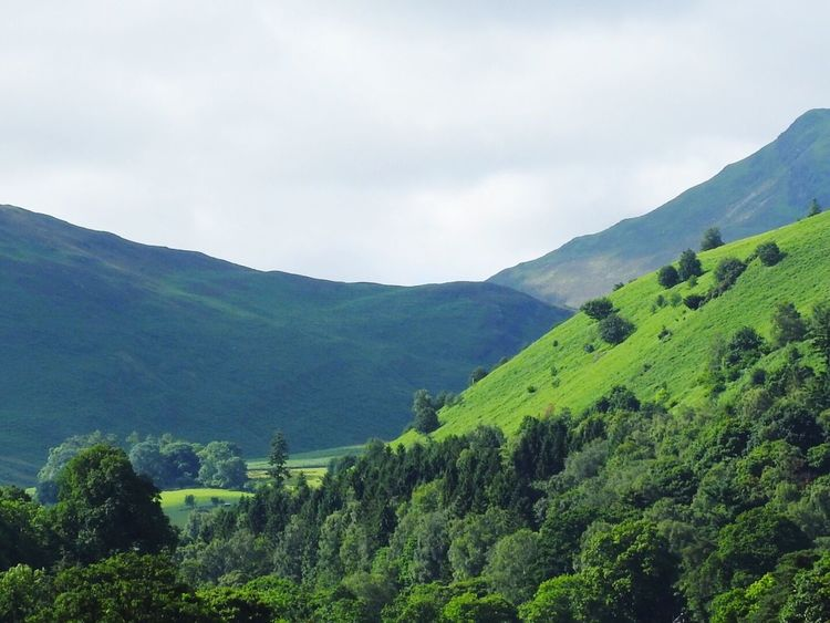 Lake District near Penrith Lake District Hills Green Penrith British Countryside New Landscape