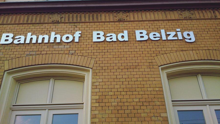 Trainstation Public Transportation Bad Belzig Germany