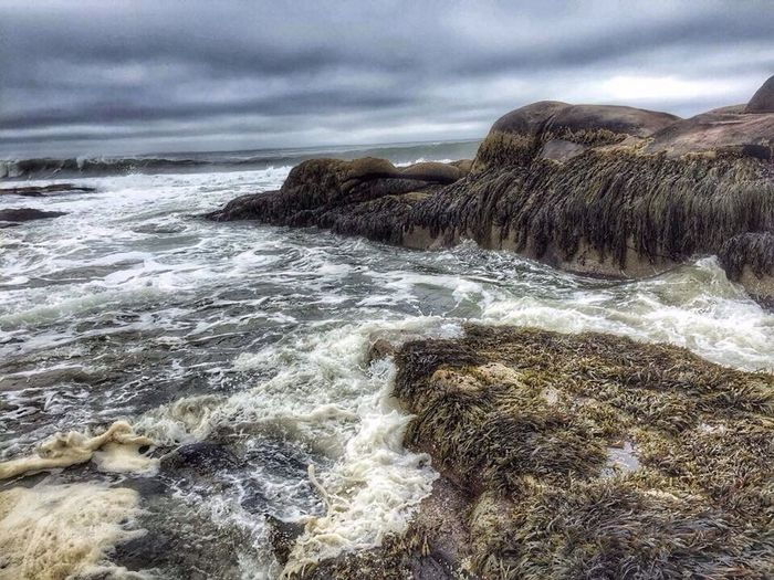 Day At The Beach Rocky Coastline Waves Coast Reid State Park CarolSharkeyPhotography Maine