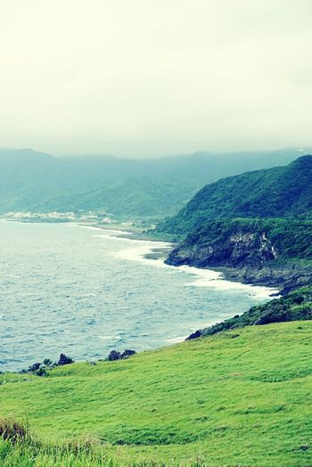 Sea And Sky Mountain View Lanyu Taitung,taiwan