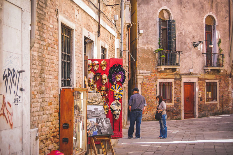 City City Life Cultural District Culture Discovery Display Historical Center Holiday Italian Italy Masks Old Town Pedestrian Zone Shop Street Sunny Day Tourism Travel Destinations Travel Photography Urban Urban Scene Venice