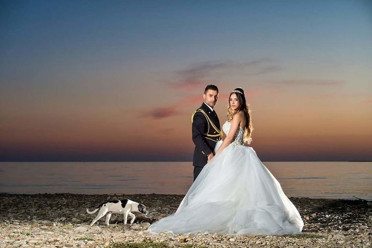 Wedding Bride Wedding Dress Bridegroom Married Love Wife Togetherness Romance Life Events Heterosexual Couple Women Men Wedding Ceremony Adult Females Couple - Relationship Celebration Husband Young Couple