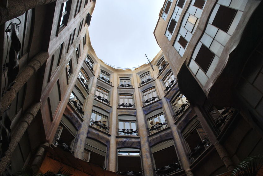 Architecture Barcelona Barcelona, Spain Building Exterior Built Structure Casa Mila ( La Pedrera ) Casa Milà Gaudì City Day District Gaudi Low Angle View Modern No People Outdoors Sky Skyscraper Window
