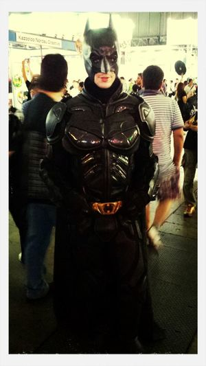 I meet batman in Tokyo game show Hehehe :) Taking Photos Videogaming Check This Out Cosplay