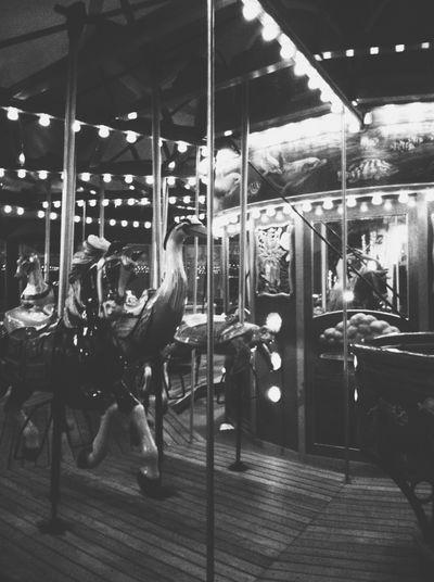 Amusement Ride Amusementpark Arts Culture And Entertainment Carosel Full Length Illuminated Leisure Activity Lifestyles Merry Go Round Mondaze Night Sitting