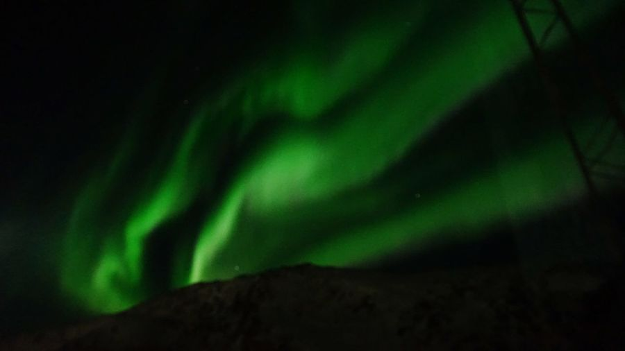 Northern Lights Auroraborealis Aurora Borealis Aurora Ilulissat The Real Greenland This Is Greenland Green Color Night No People Light - Natural Phenomenon Nature Beauty In Nature Outdoors
