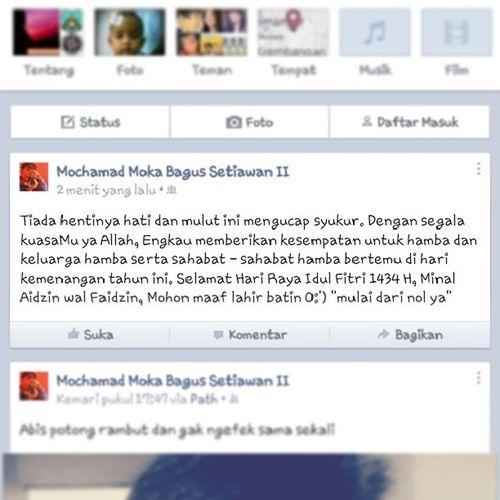 SELAMAT HARI RAYA IDUL FITRI 1434 H Quoetes Mubarak Ied Islam moslem 1434H idulfitri lebaran instasyawal
