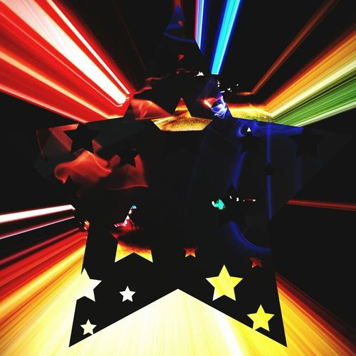 Electronic Music Shotshap Happy Neonlights NYE Fireworks Starlight Stars Bright Neon Party Bringmetolife