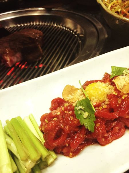 육회 Raw Beef A++ Korean Food Korean BBQ