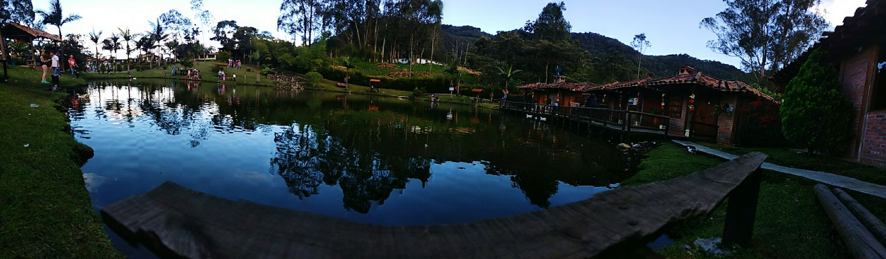 Reflection Sky Water Lake Outdoors No People Tree Nature Reflection Lake Day Cultures Huaweiphotography Misiones Mision  Huawei P9 Plus My Year My View Huawei P9. Nature
