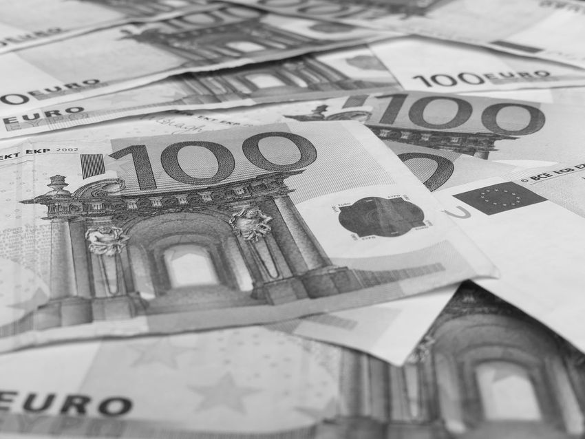 Money Money Money Backgrounds Black And White Blackandwhite Close-up Currency Day Euros Finance Full Frame Geldscheine Indoors  Money No People Paper Currency Savings Wealth