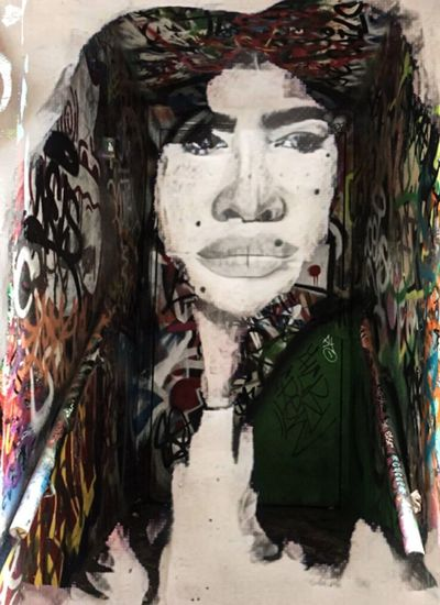 Mishto Romani Women Photographic Approximation Type Faces Facial Experiments