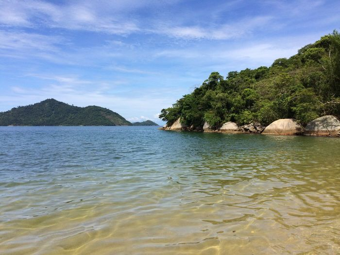 ANGRA DOS REIS RIO DE JANEIRO BRAZIL Beauty In Nature Calm Distant EyeEm Team Lake Lakeshore Nature Ocean Outdoors Reflection Rippled River Scenics Sea Standing Water Tranquil Scene Tranquility Tropical Climate Vacation Vacations Visual Trends SS16 - Lifestyle x Travel Voyage Water Waterfront