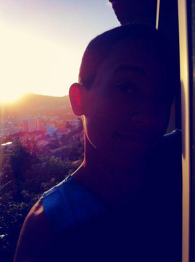 vamos ver o por do sol me dê a mão ??✌️