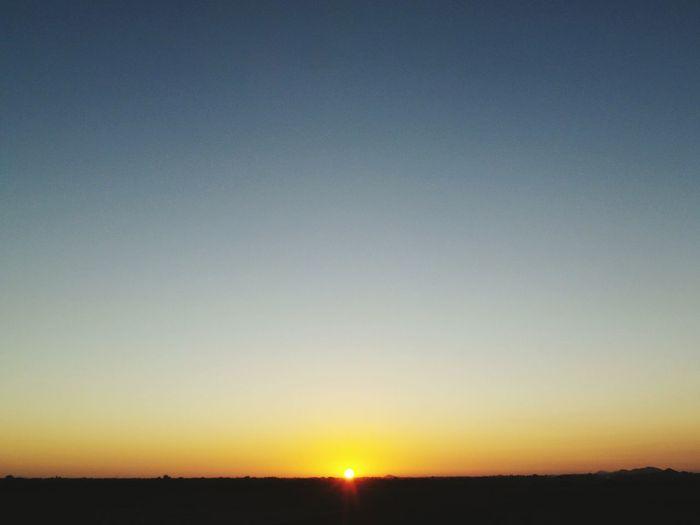 Sunset Sun Copy