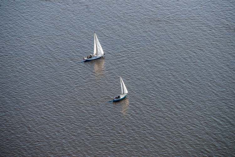 Sailing boats on the Gaastmeer Aerial Shot Netherlands Sailing Ship The Netherlands Aerial Photography Aerial View Dutch Dutch Landscape Gaastmeer High Angle View Holland Mode Of Transportation Nautical Vessel Sailboat Sailing Sailing Boat Tranquility Transportation Travel Typical Dutch Water