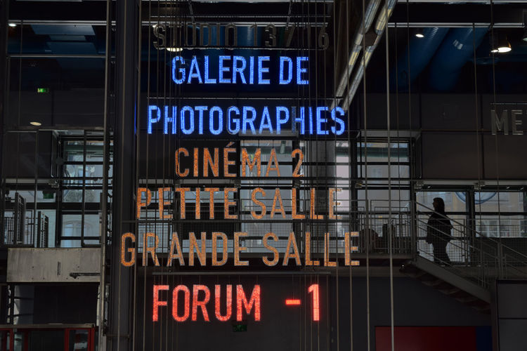 GALERIE DE PHOTOGRAPHIES I FORUM -1 Letters Light Sign Art Directions Exposition Pompidou The Creative - 2018 EyeEm Awards