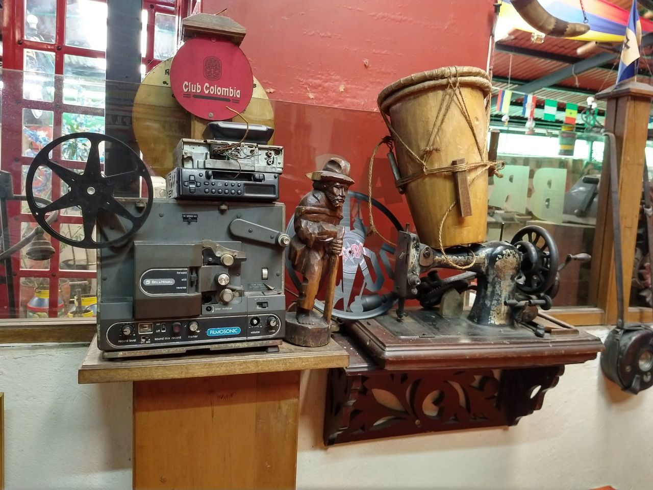 no people, technology, equipment, metal, indoors, machinery, day, wood - material, machine part, old, connection, industry, table, valve, close-up, retro styled, workshop, still life