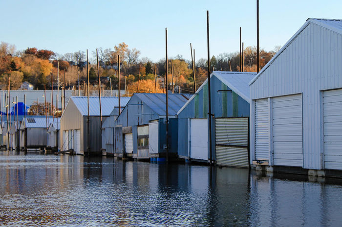 Boathouses Fall Colors