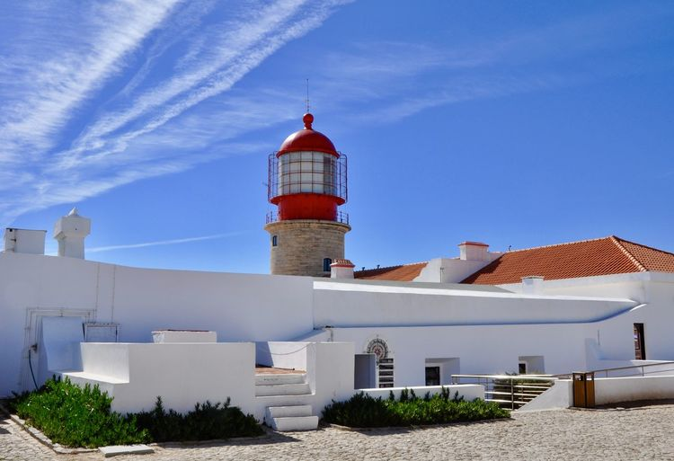 Architecture Beach Beauty In Nature Building Building Exterior Built Structure Clear Sky Coastline Harbour Landschaftlich Lighthouse Lighthouse Photography Lighthouse Tower No People Ocean Outdoors Portugal Sea Seascape Sky Tower Water