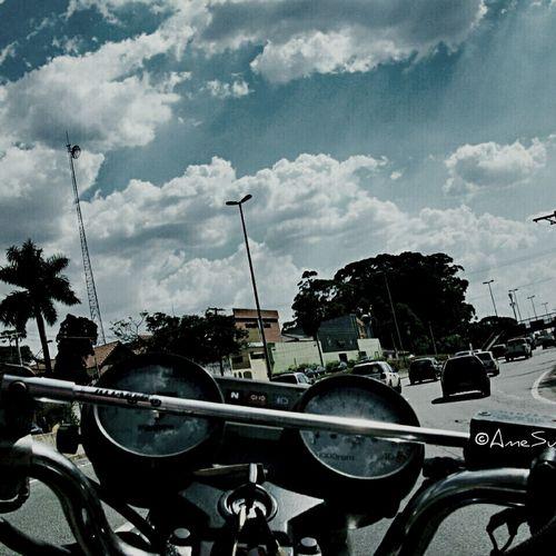 Out For A Drive Embu Motorcycle Honda Biker