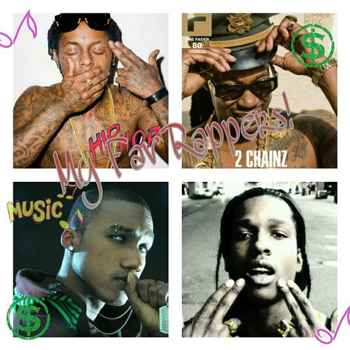 Love Hopsin Lil Wayne 2 Chainz Them ASAP ROCKY My Fav Rappers