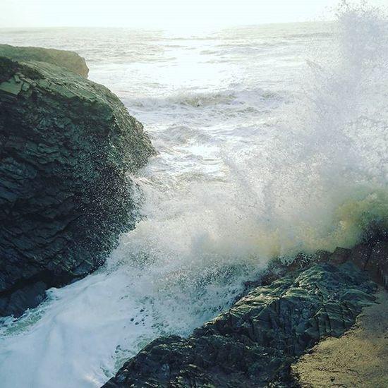 Fortes vagues 🌊 Mer Saintgillescroixdevie Vendée Frenchcoast France Plage Playa Eau Water Vagues Marines