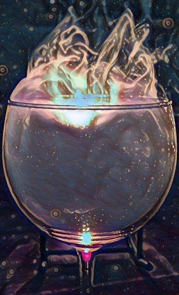 Wine Glass Of