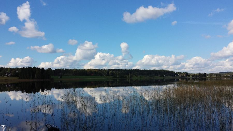 Tranqulity .... Landscape_Collection Sky And Clouds Water Reflections Nature