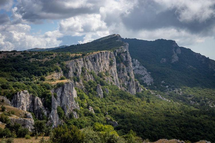 Crimea Hiking Travel Trip Adventure Beauty In Nature Cloud - Sky Day Landscape Mountain Nature No People Outdoors Scenics Sky Summer Tree Tripcrimea