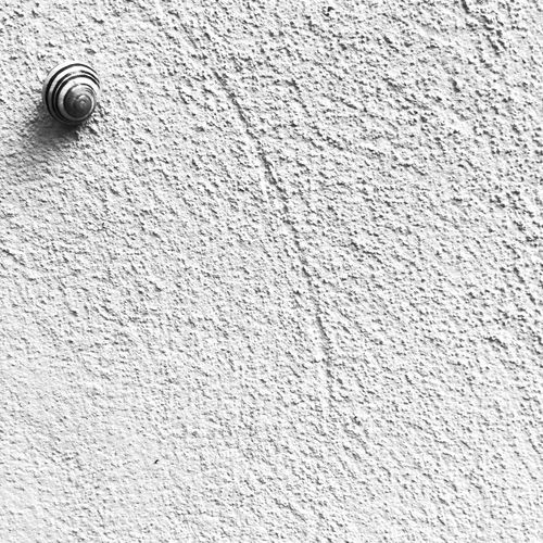 Showing Imperfection Coil. The wall. Black and White photo EyeEm Blackandwhite Photography
