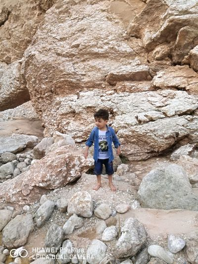 Child Full Length Childhood Climbing Hiking Arid Climate Rock - Object Adventure Casual Clothing