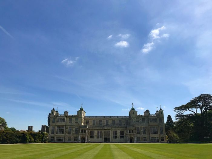 Audley End Sky