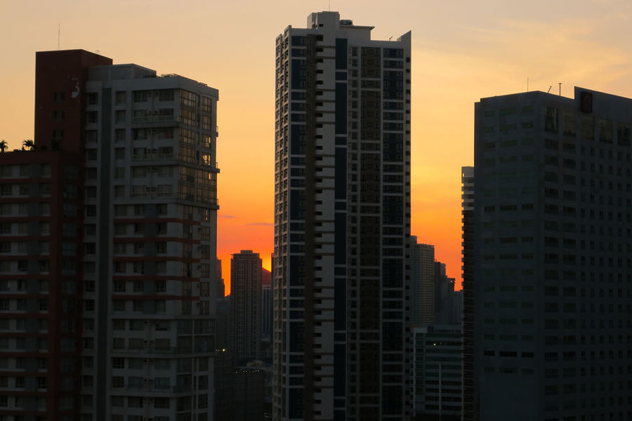 Beautiful sunset behind Manila city skyscrapers Air Pollution Air Quality Building Silhouette City Living City Silhouette City Sunset Cityscape Photography Condo Condo Living Condominium High Rise It's More Fun In The Philippines Luzon Mandaluyong Manila Bay  Manila Skyline Manila Sunset Metropolitan NCR Orange Sunset Pasig Pearl Of The Orient Pollution Smog Urban Building