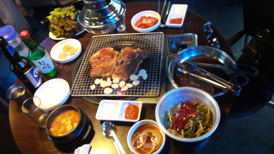 Food And Drink South Korea Good Food^^ 숫불돼지갈비 Good ♡....♡