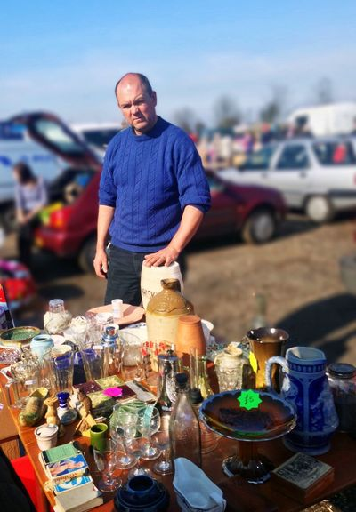 Real People Outdoors Market Car Boot Sale Yorkshire Candid EyEmNewHere