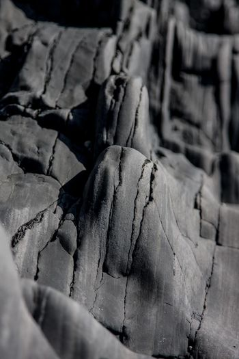 Backgrounds Bark Black Rock City Broken Close-up Cracked Day Destruction Detail Djúpalónssandur Beach Full Frame Iceland_collection Natural Pattern No People Outdoors Pattern Stone Textured