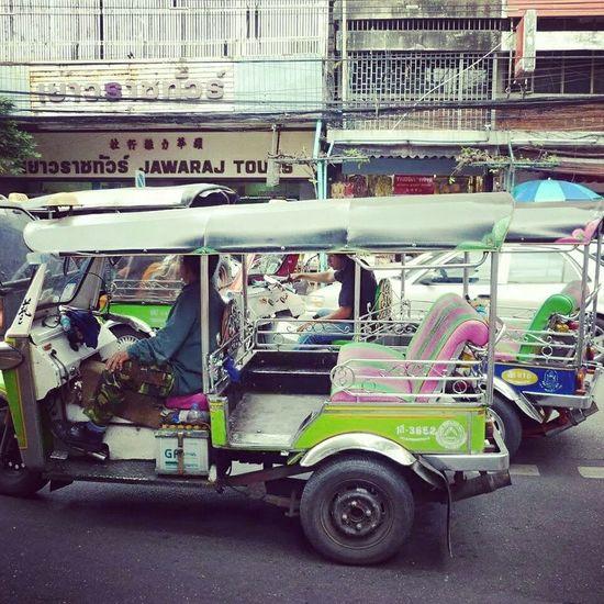 Taking Photos Thailand Travelling Bangkok City Aventure Tuk Tuk Tuk Tuk Bangkok Dangerous Trasportepublico Enjoying Life