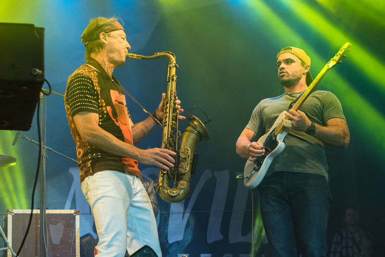 NIS, SERBIA - AUGUST 13: American jazz saxophonist Bill Evans live at Nisville Jazz Festival August 13, 2016 in Nis, Serbia Band Bill Evans Evans Jazz Jazz Concert Jazz Festival Music Serbia Bill Festival Jazz Band Jazz Music Nisville Niš Performance Saxophone