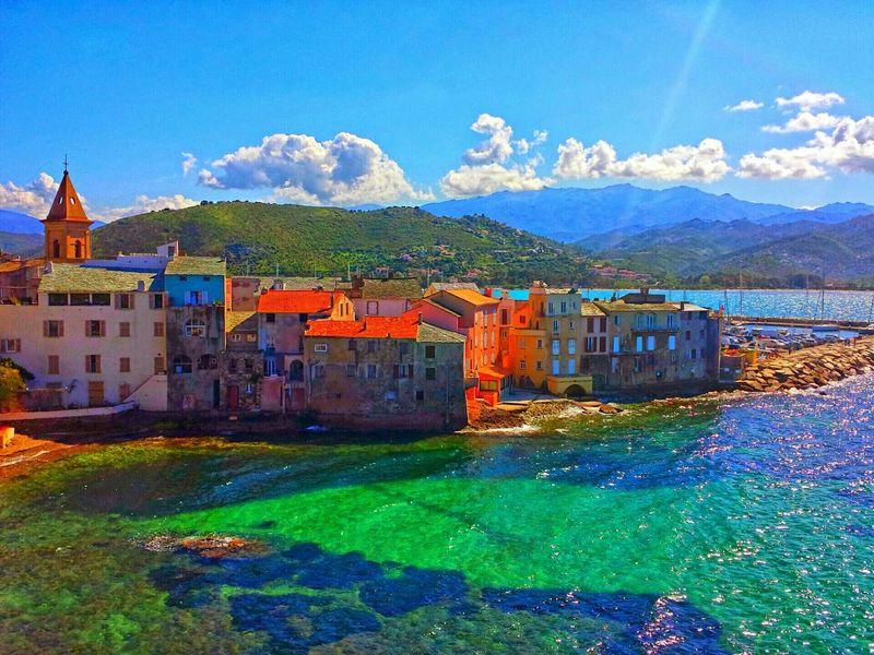 Corse Corsica Stflorent Ville Mer Paysage Paysages