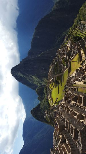 Machu Picchu - Peru History Mountain Travel Destinations Cloud - Sky Tourism Ancient Pyramid Architecture Ancient Civilization Old Ruin Mountain Range Built Structure Outdoors Day No People Sky Nature adventure